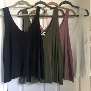 SET OF FOUR Abound Tank Tops!